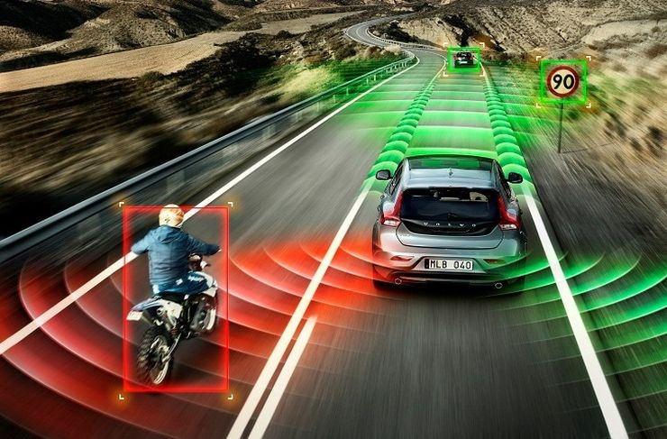 Autonóm jármű és környzete